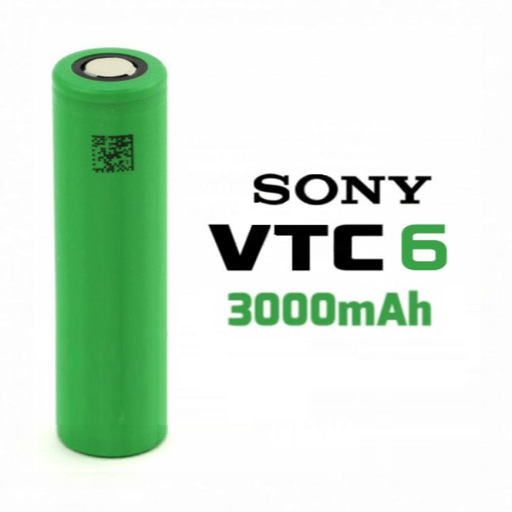بطارية سوني - SONY VTC6 18650 Battery 3000 MAH