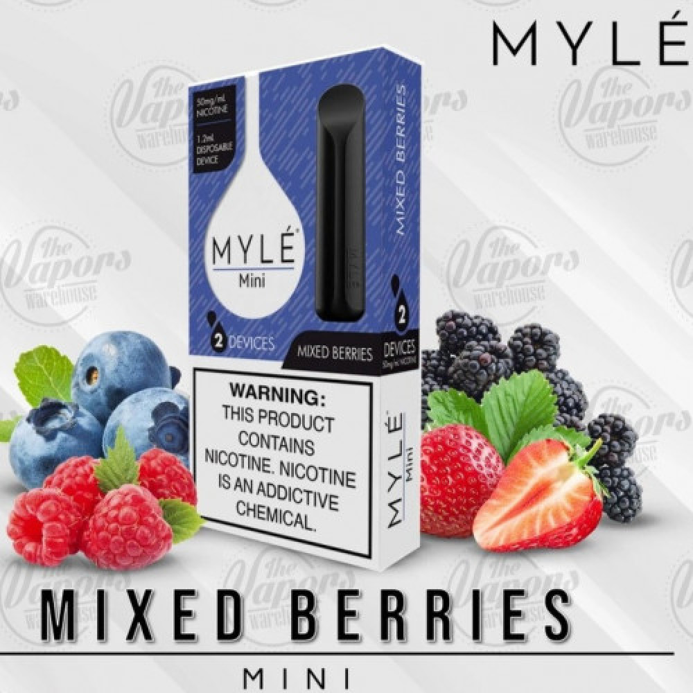 مايلي ميني بنكهة مكس التوت - MYLE Mini Mixed Berries - فيب شيشة سيجارة