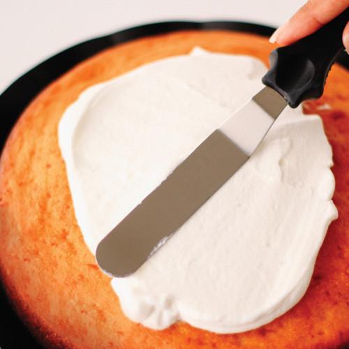 سباتولا لفرد الكريمة وتزيين الكيك ملعقة سباتولا ملعقة توزيع الكريمة