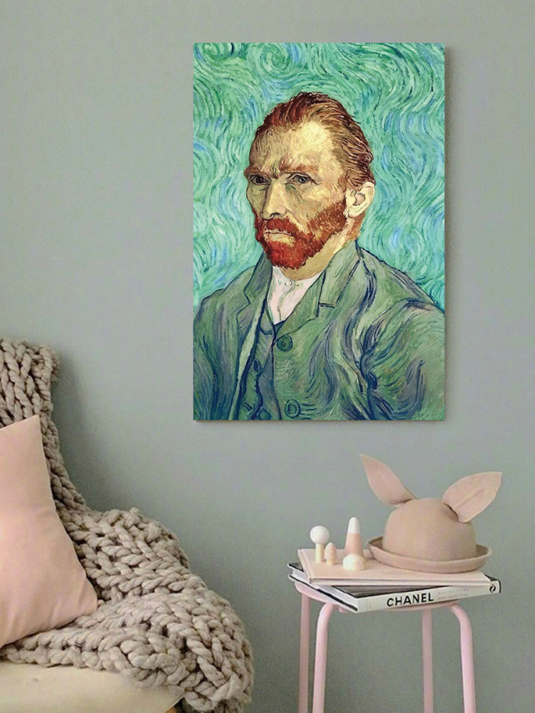 لوحة فان جوخ خشب ام دي اف مقاس 40x60 سنتيمتر