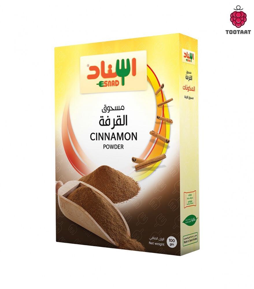 Cinnamon Powder 100g - مسحوق القرفة Tootaat