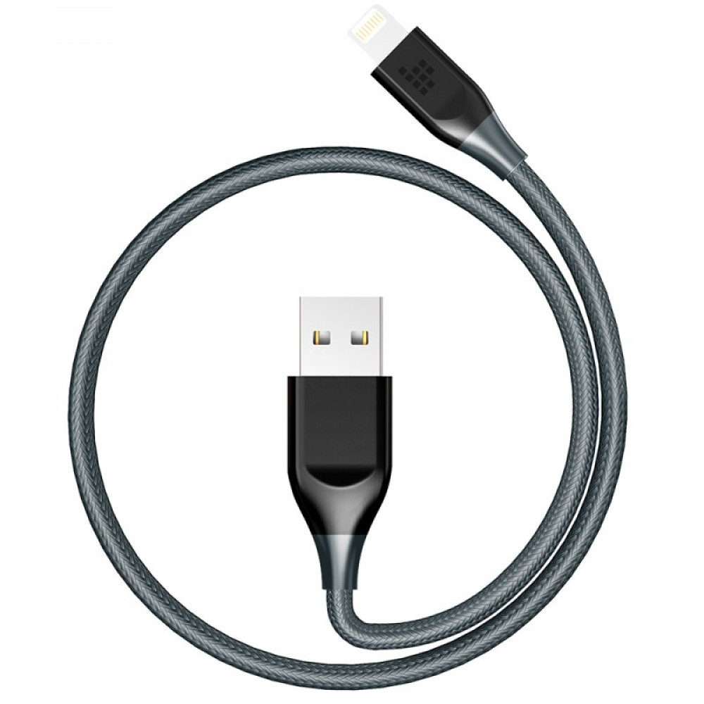 Double Braided Nylon 1ft Lightning Cable