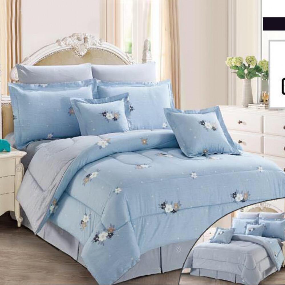 طقم مفارش سرير فاخر لشخصين - متجر مفارش ميلين