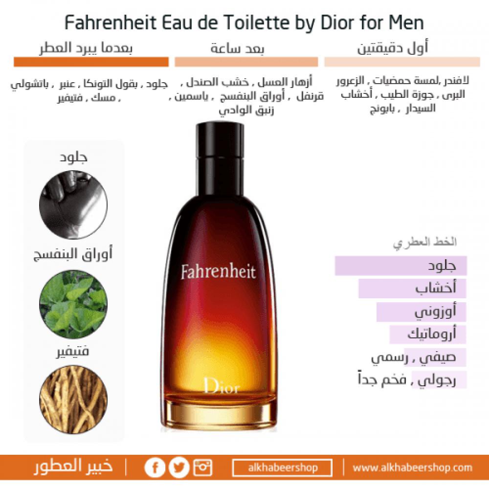 Dior Fahrenheit Eau de Toilette خبير العطور