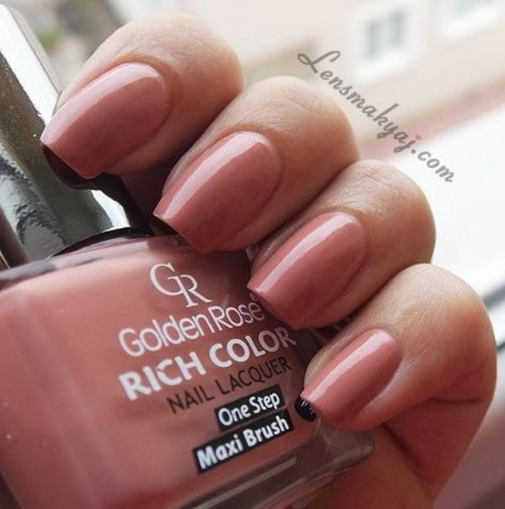 مناكير قولدن روز ريتش كلور  GOLDEN ROSE Rich Color Nail Lacquer 54
