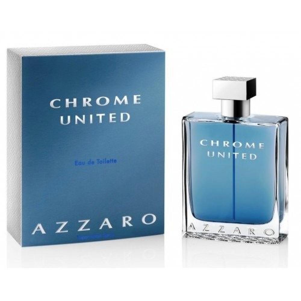 Azzaro Chrome United Eau de Toilette 100ml خبير العطور