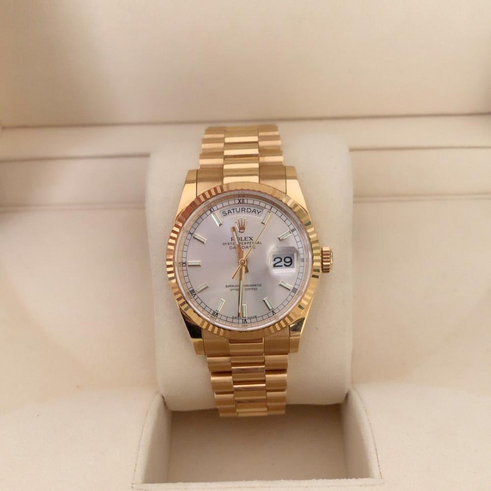 ساعة رولكس داي ديت الأصلية الثمينة 118238