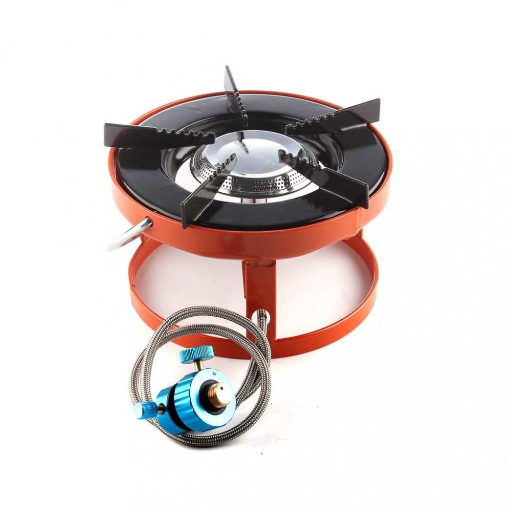 موقد غاز دائري للرحلات برتقالي MI - 38405