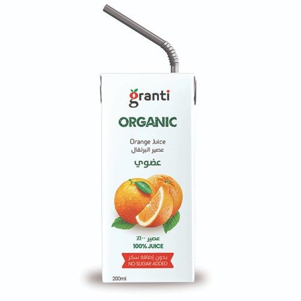 قرانتي عصير برتقال عضوي 200 مل