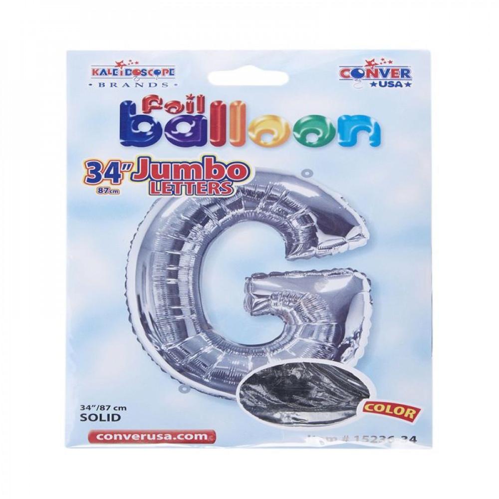 بالون فضي, Silver Balloon, بلونات أحرف, بالون حرف G
