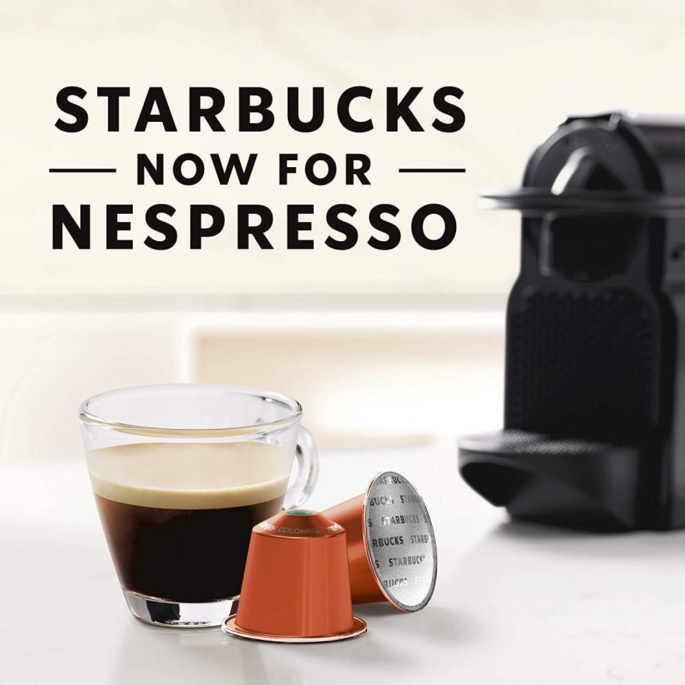 كولومبيا اسبريسو قهوة ستاربكس كبسولات نسبريسو الأصلية Nespresso