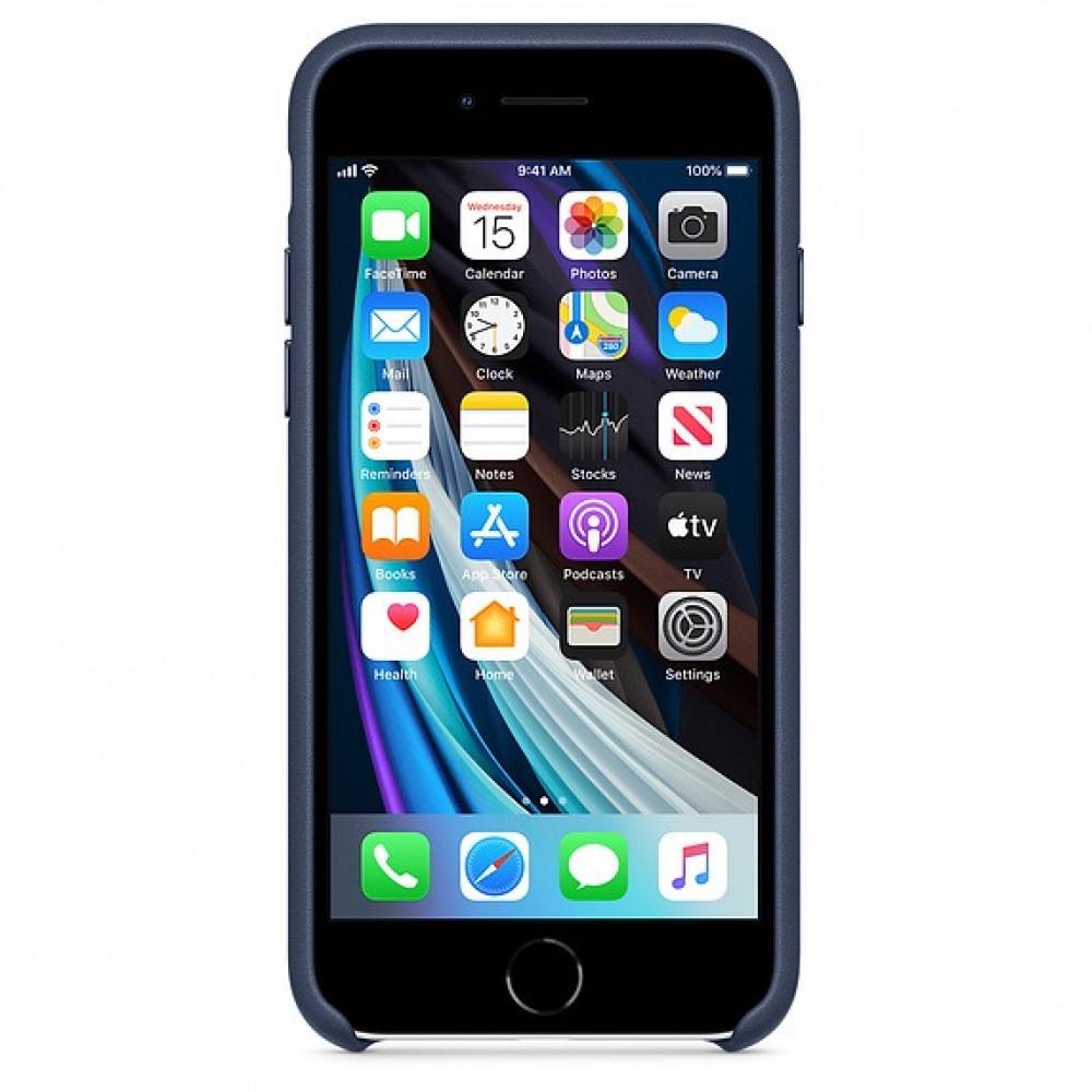 كفر iphone 7 8 جلدي