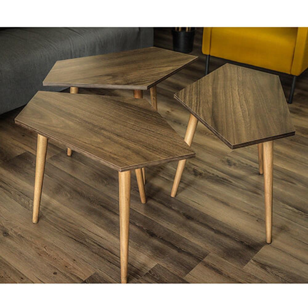 صور طاولات قهوه طاولة القهوة خشب بني موديل سيفا