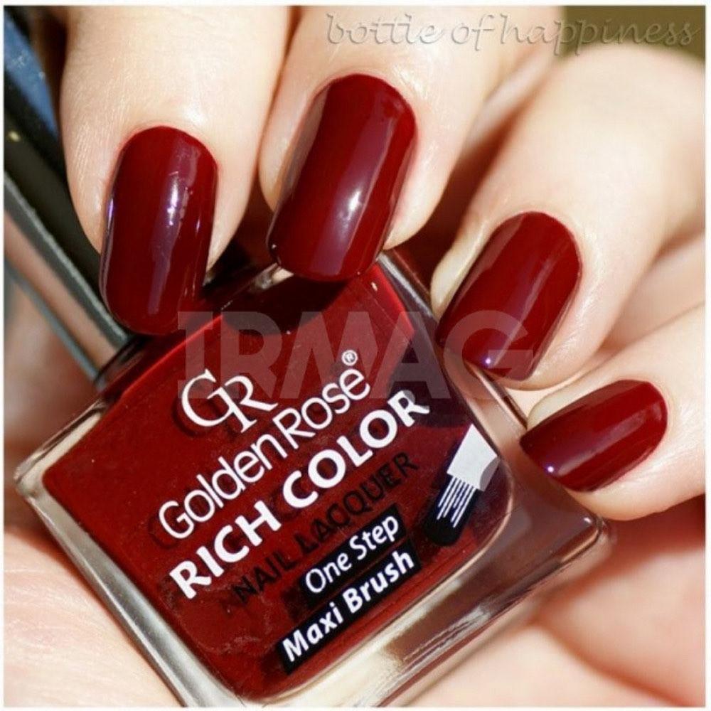 مناكير قولدن روز ريتش كلور رقم 23  GOLDEN ROSE Rich Color Nail Lacquer
