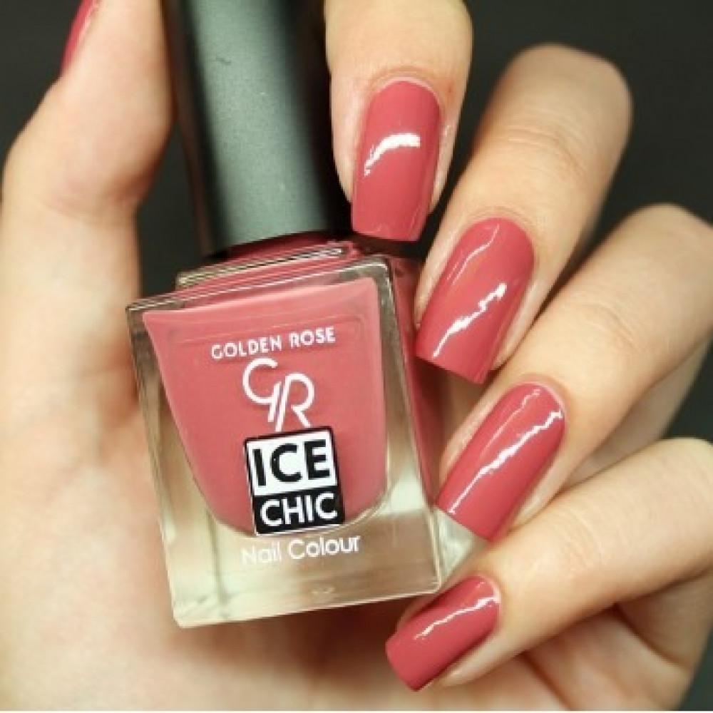 GOLDEN ROSE Ice Chic Nail Colour مناكير قولدن روز 23