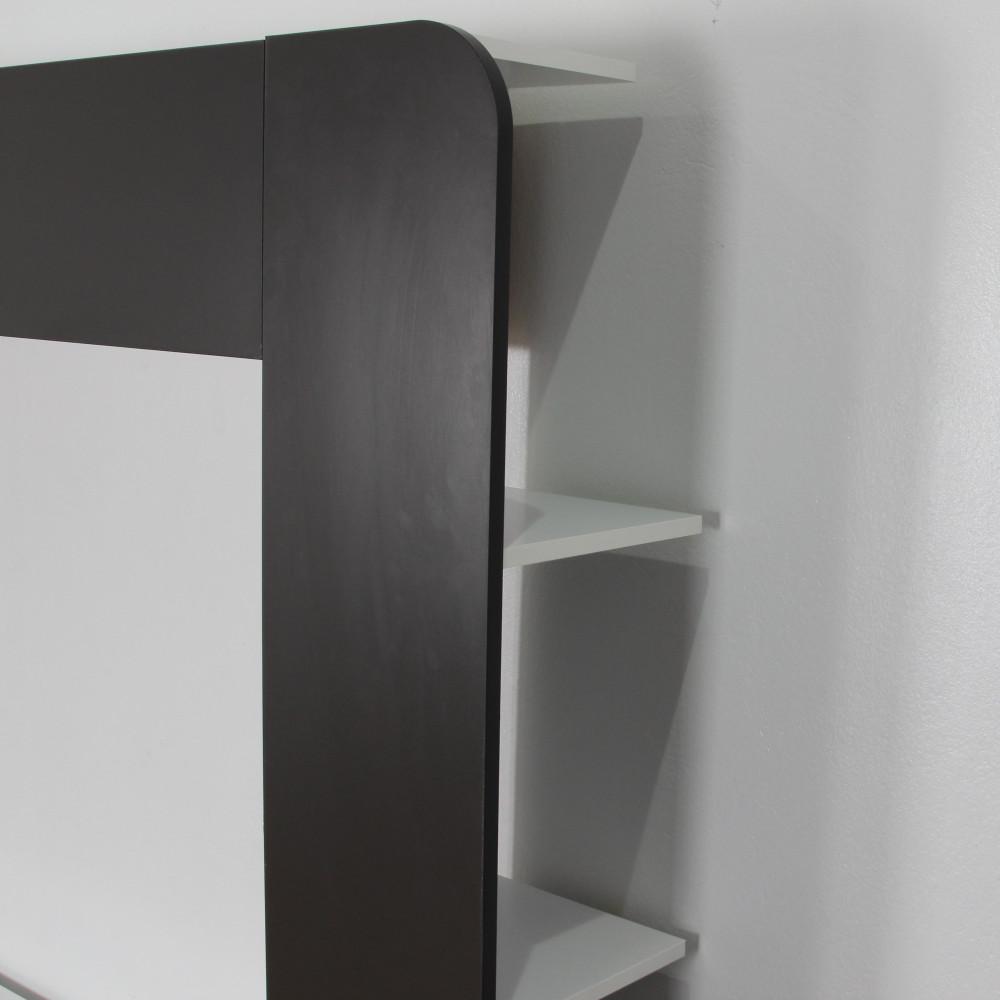 مواسم طاولة التلفاز الخشبية موديل أوفيس ستايل بالتصميم الجميل للرفوف