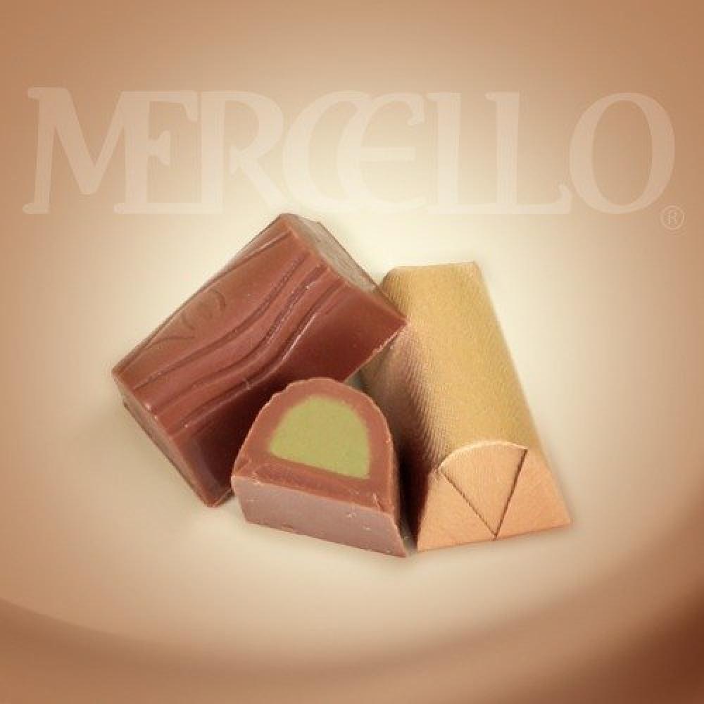 شوكولاتة الحليب بنكهة جندويا الفستق