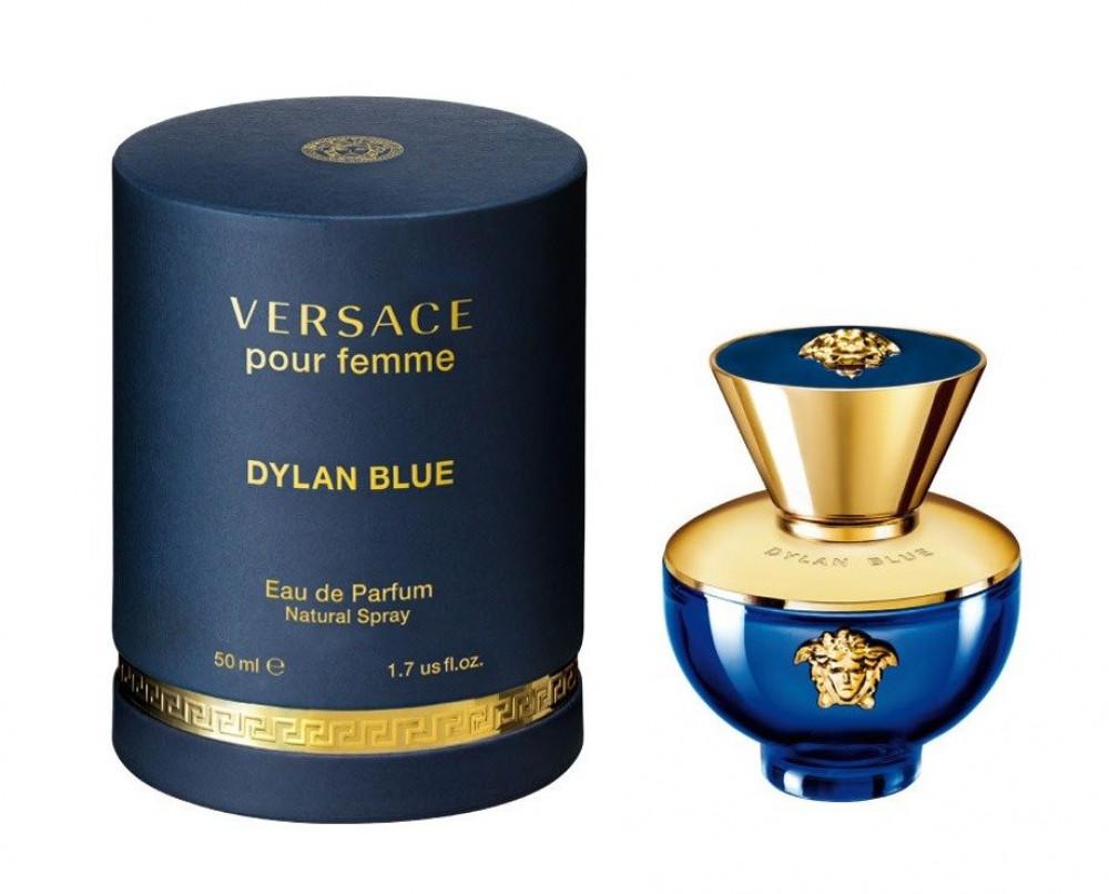 Versace Pour Femme Dylan Blue Eau de Parfum 50ml متجر خبير العطور