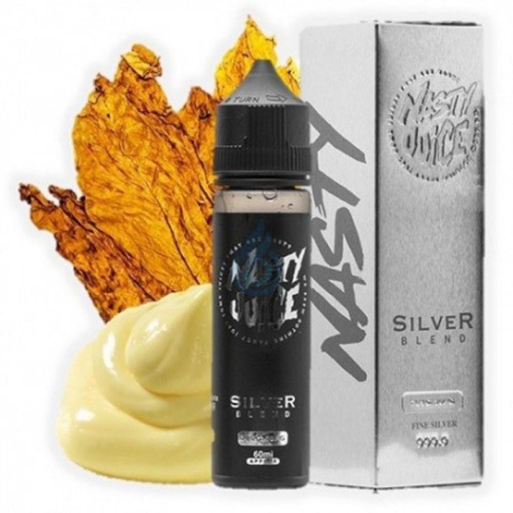 NASTY SILVER BLEND TOBACCO - 60ML - فيب شيشة  نكهات شيشة  نكهة ناستي