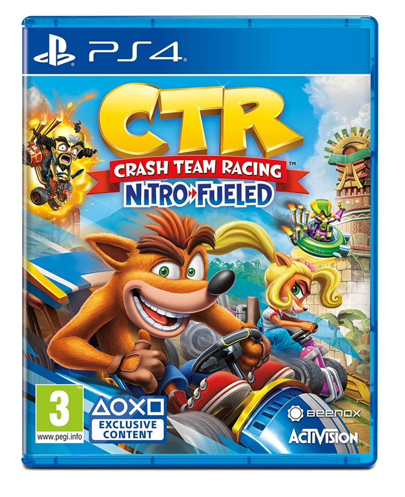 Crash Team Racing Nitro-Fueled-PS4