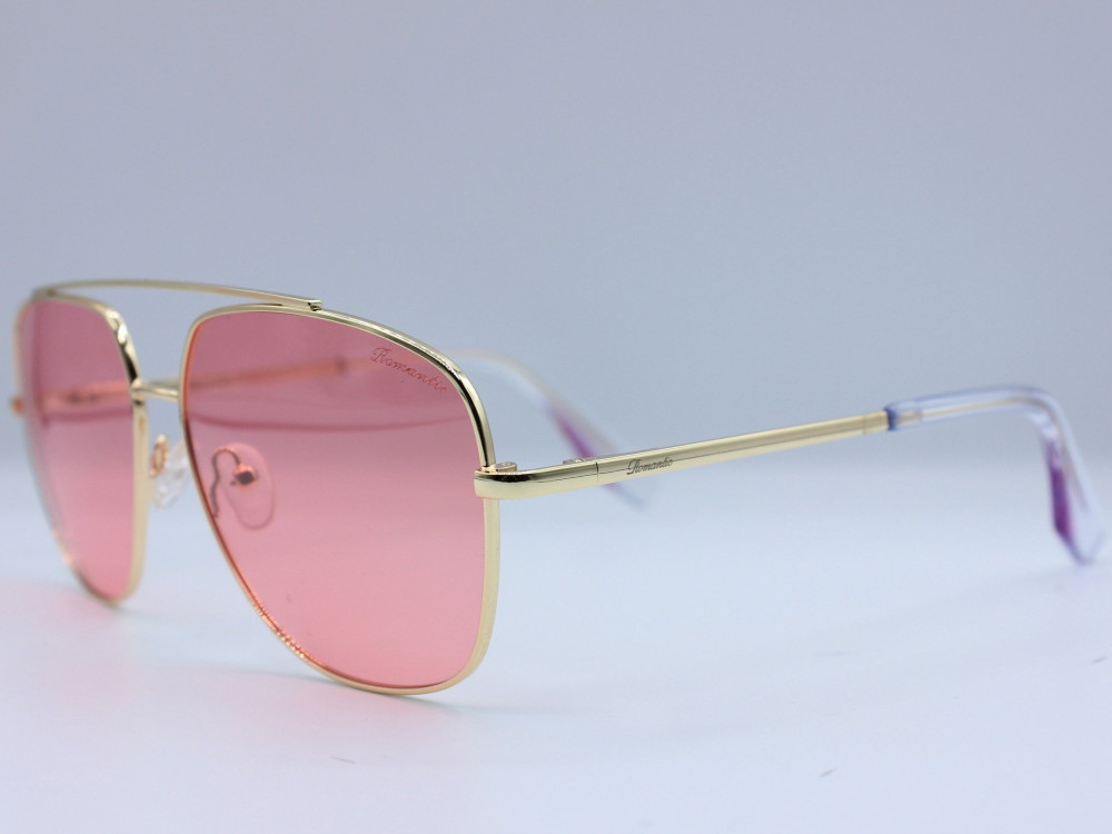 نظاره شمسية مربعه من ماركة ROMANTIC لون العدسة وردي نسائية انيقة2021