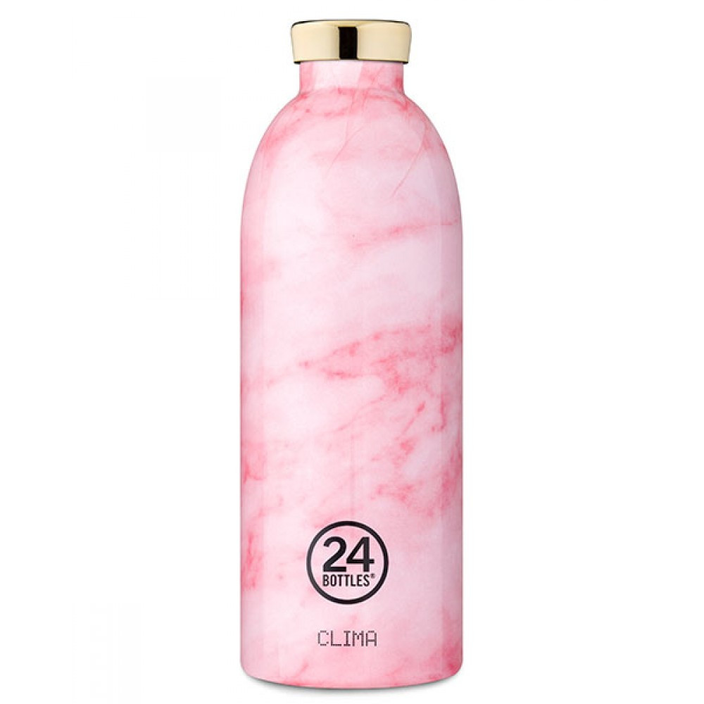 Clima 850 ml Marble Pink 24 Bottles