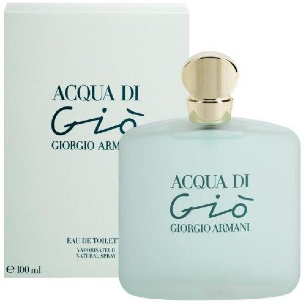 Armani Acqua Di Gio for Woman Eau de Toilette 100ml خبير العطور