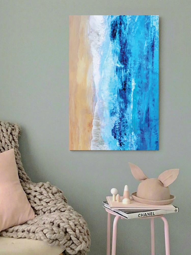 لوحة الشاطئ خشب ام دي اف مقاس 40x60 سنتيمتر