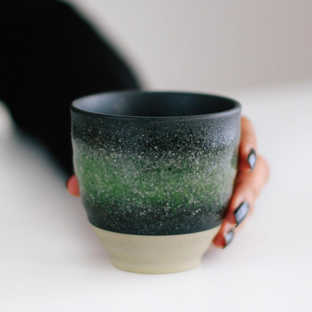هدايا أكواب قهوة مختصة أفكار هدية نسائية القهوة كوب خزف أخضر متجر