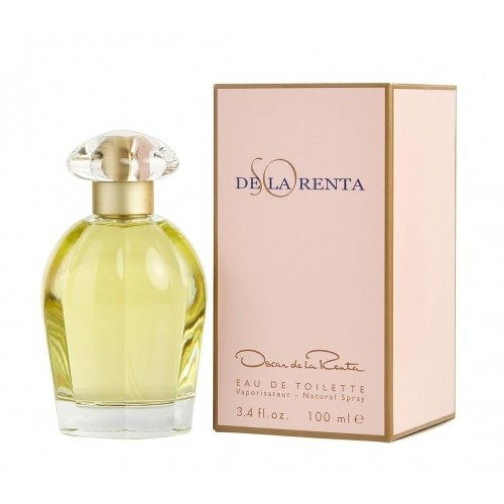 Oscar de La Renta So Eau de Toilette 100ml خبير العطور