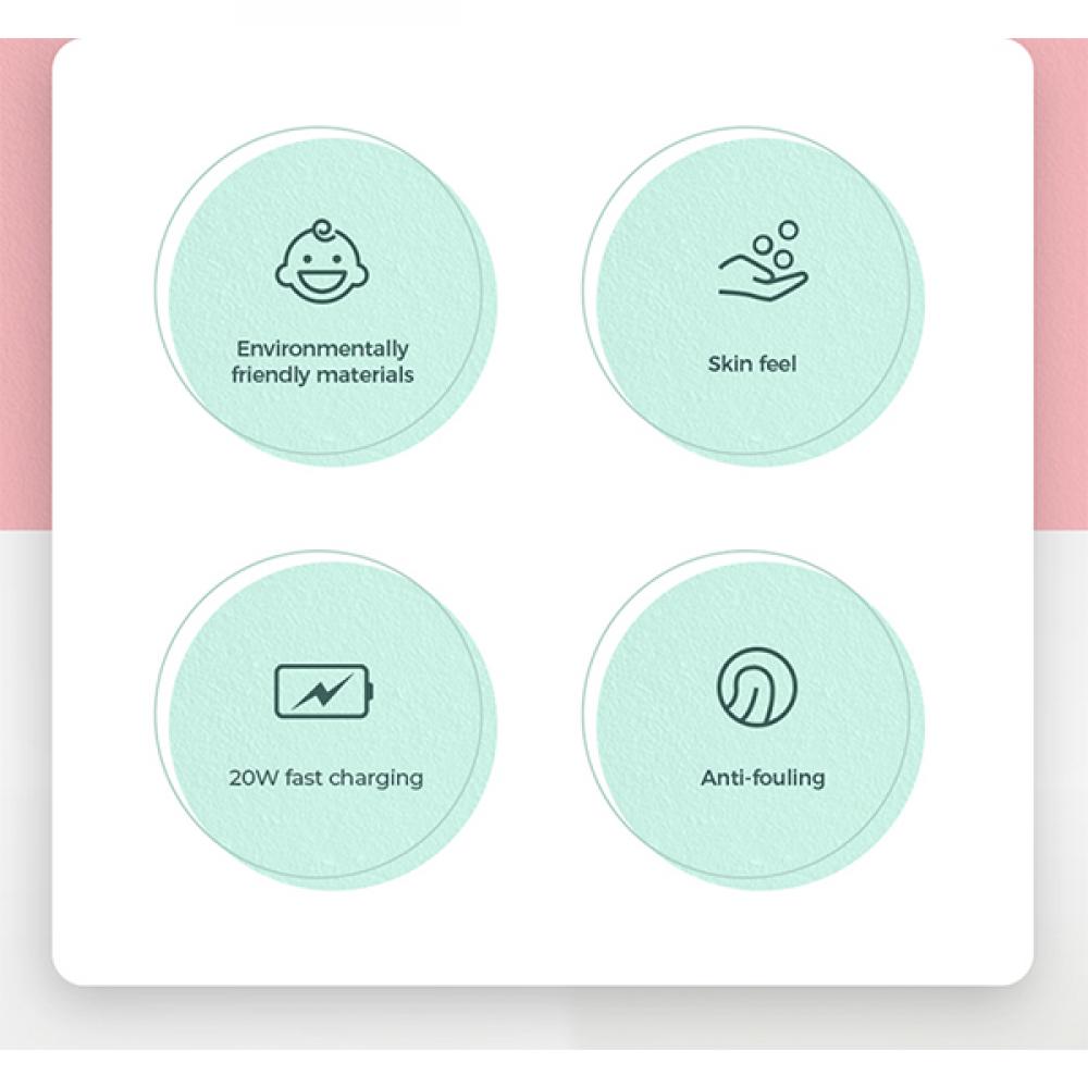 كيبل Joyroom تايب سي  لايتننج للأيفون - بنفسجي