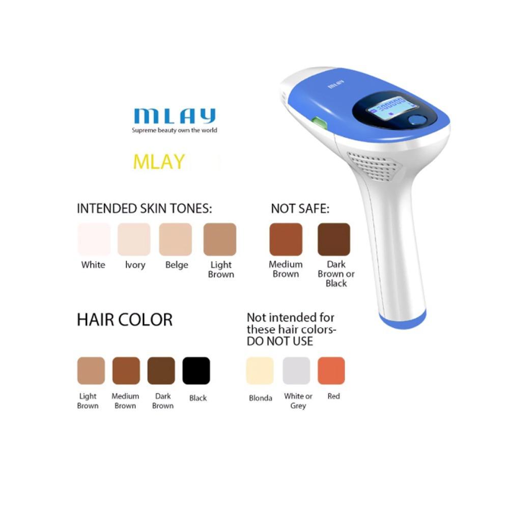 جهاز إزالة الشعر mlay ipl