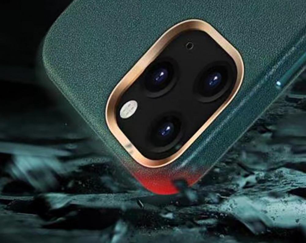 كفر مقاوم للصدمات والخدوش بإطار معدني للكاميرا  لأيفون 12 برو ماكس
