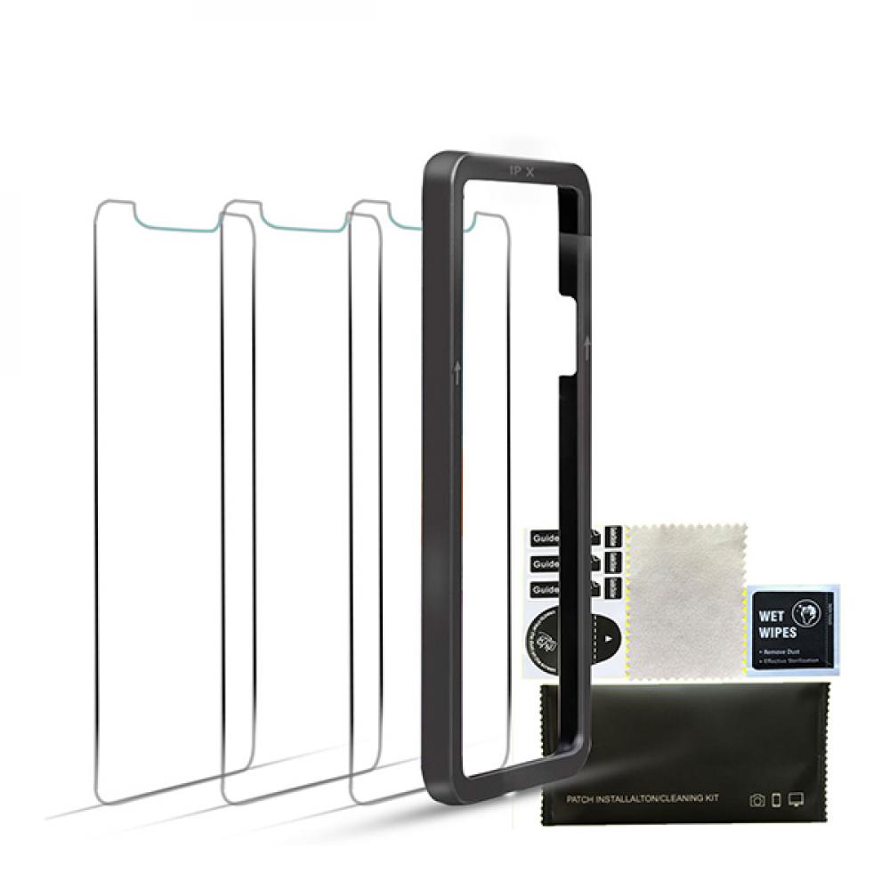 واقي شاشة شفاف ضد الكسر لأيفون
