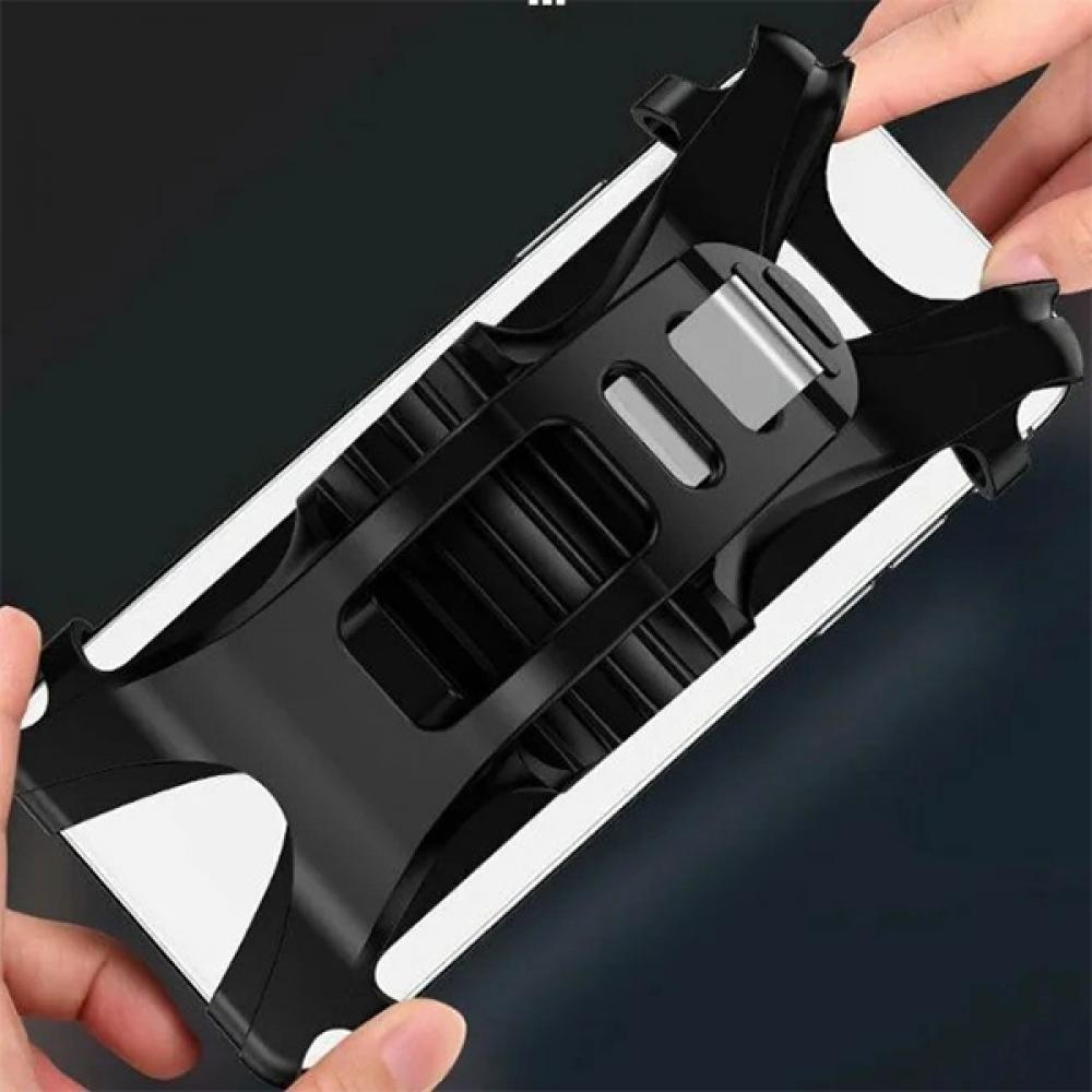 حامل جوال سيليكون للدراجات Silicone mobile holder for bicycles