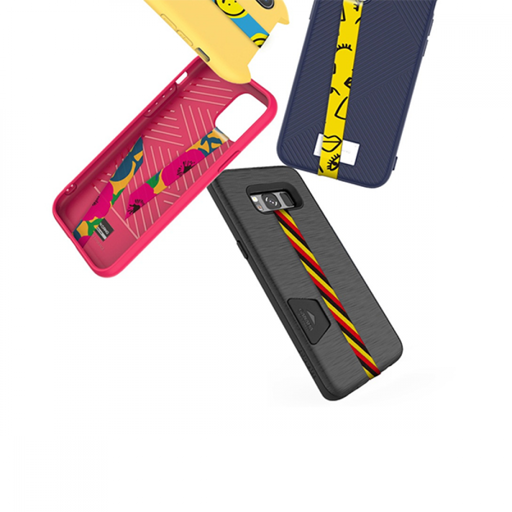 شريط MOLAN CANO  لكفر الجوال - شكل Strap Grip Stickers Multifunctional