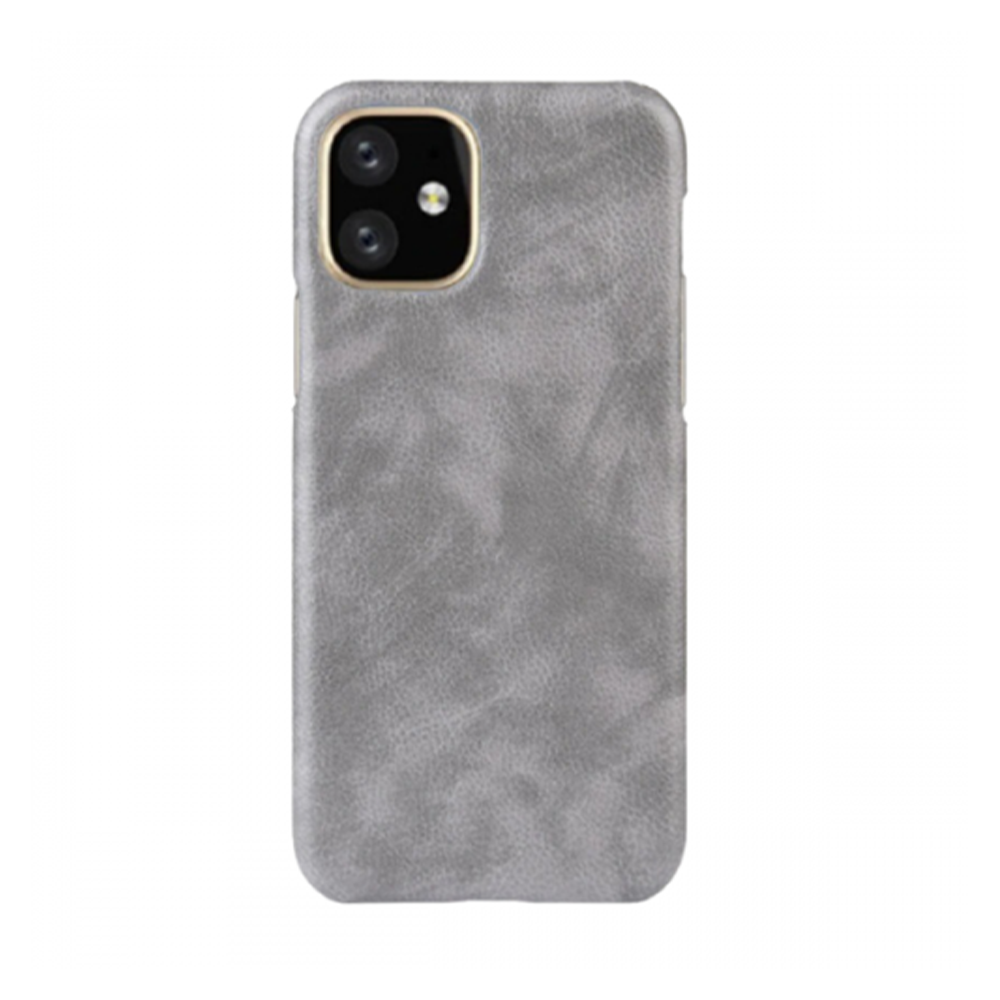كفر جلد لأيفون 11 - رمادي IPhone 11