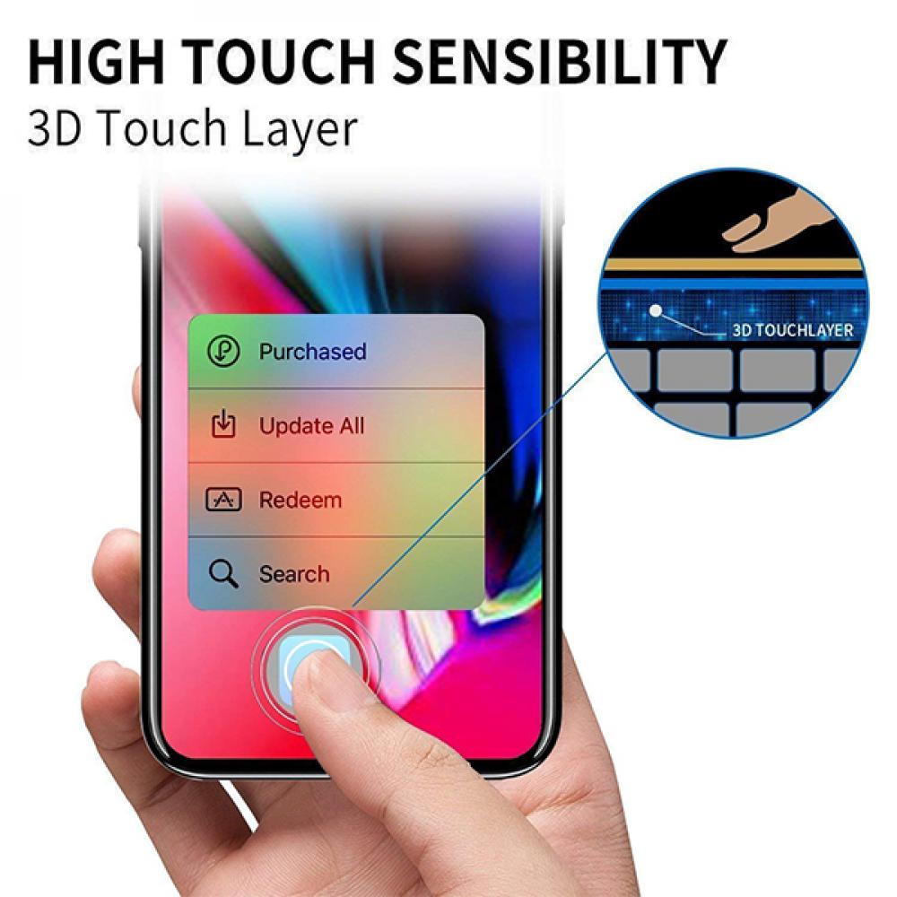 واقي شاشة شفاف ضد الكسر لأيفون إكس وإكس إس و أيفون 11 برو iPhone Xs-X-