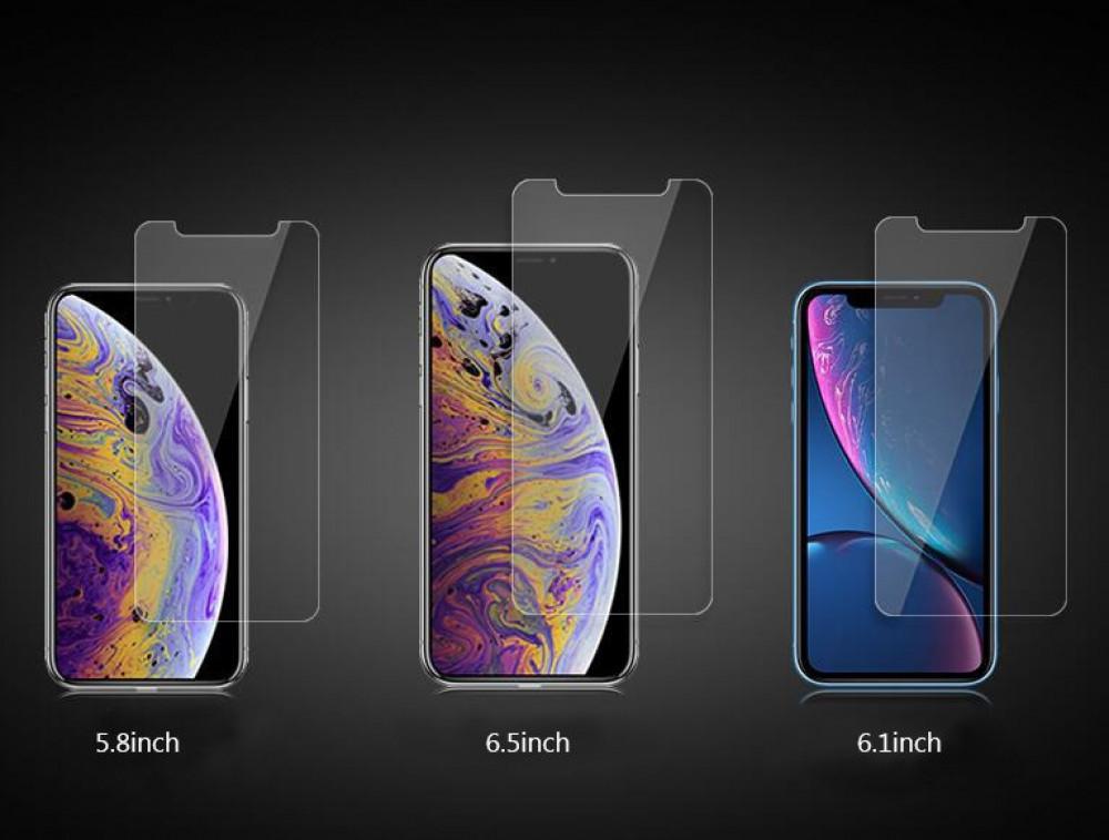واقي شاشة شفاف ضد الكسر لأيفون إكس آر و أيفون 11 iPhone XR-11