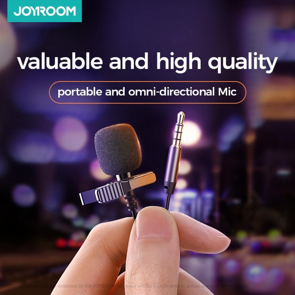 ميكروفون Joyroom Lapel Lavalier سلكي 3 أمتار