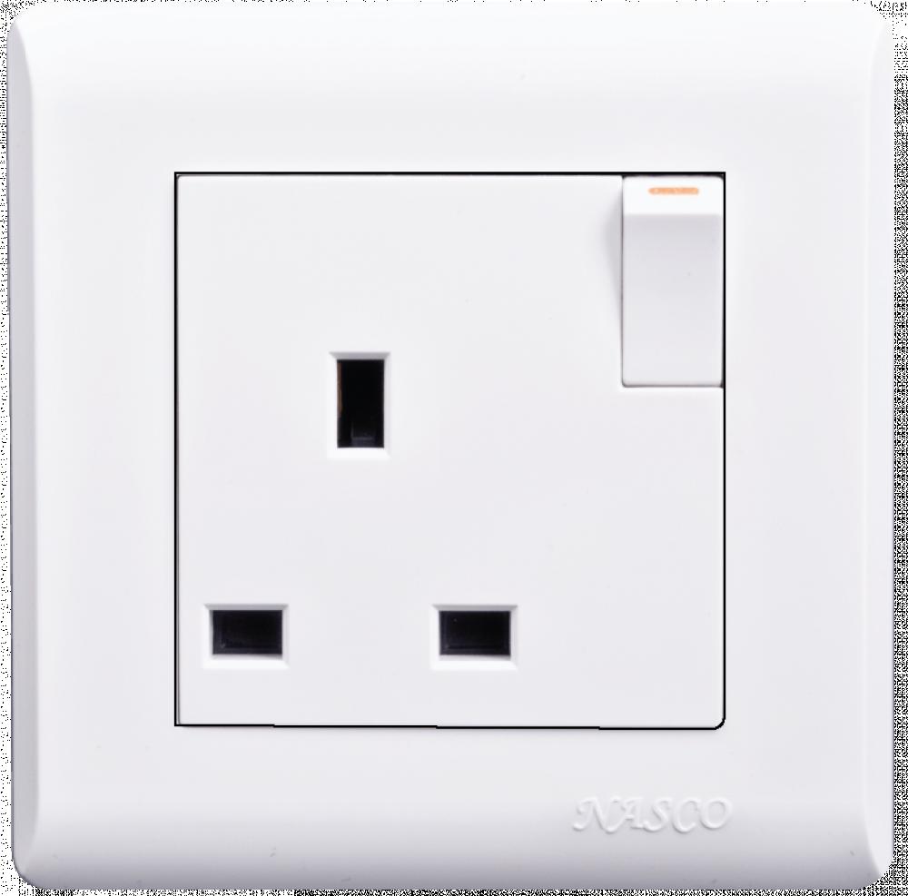 فيش مع مفتاح - ناسكو - Switched Socket