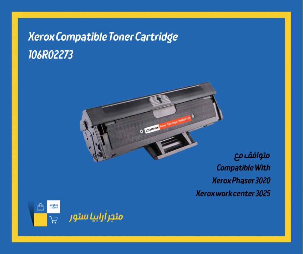 Xerox Compatible Toner-3020-3025-106R02773 Black