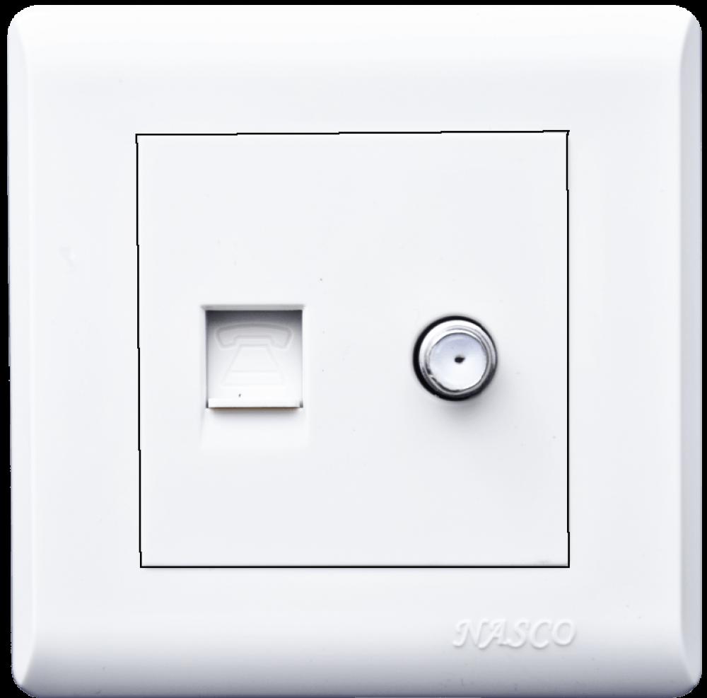 فيش تليفون - دش- ناسكو - Socket