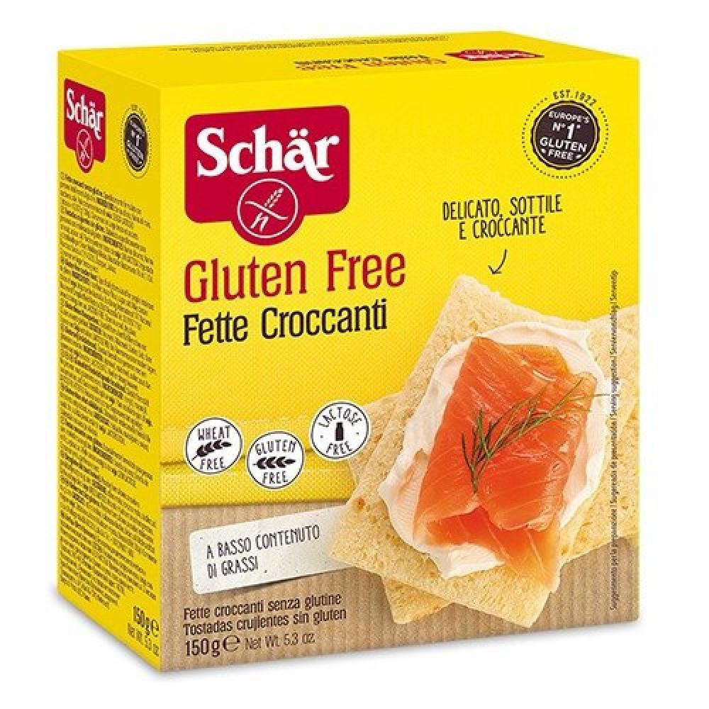 شرائح خبز محمصة خالي من الجلوتين 150 جرام