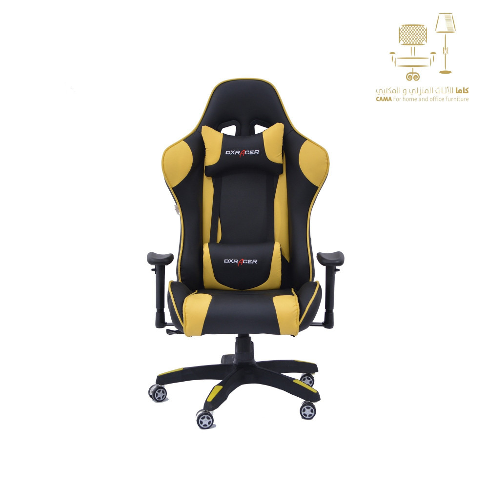 كرسي قيمز اصفرC-SD-1508- yellow