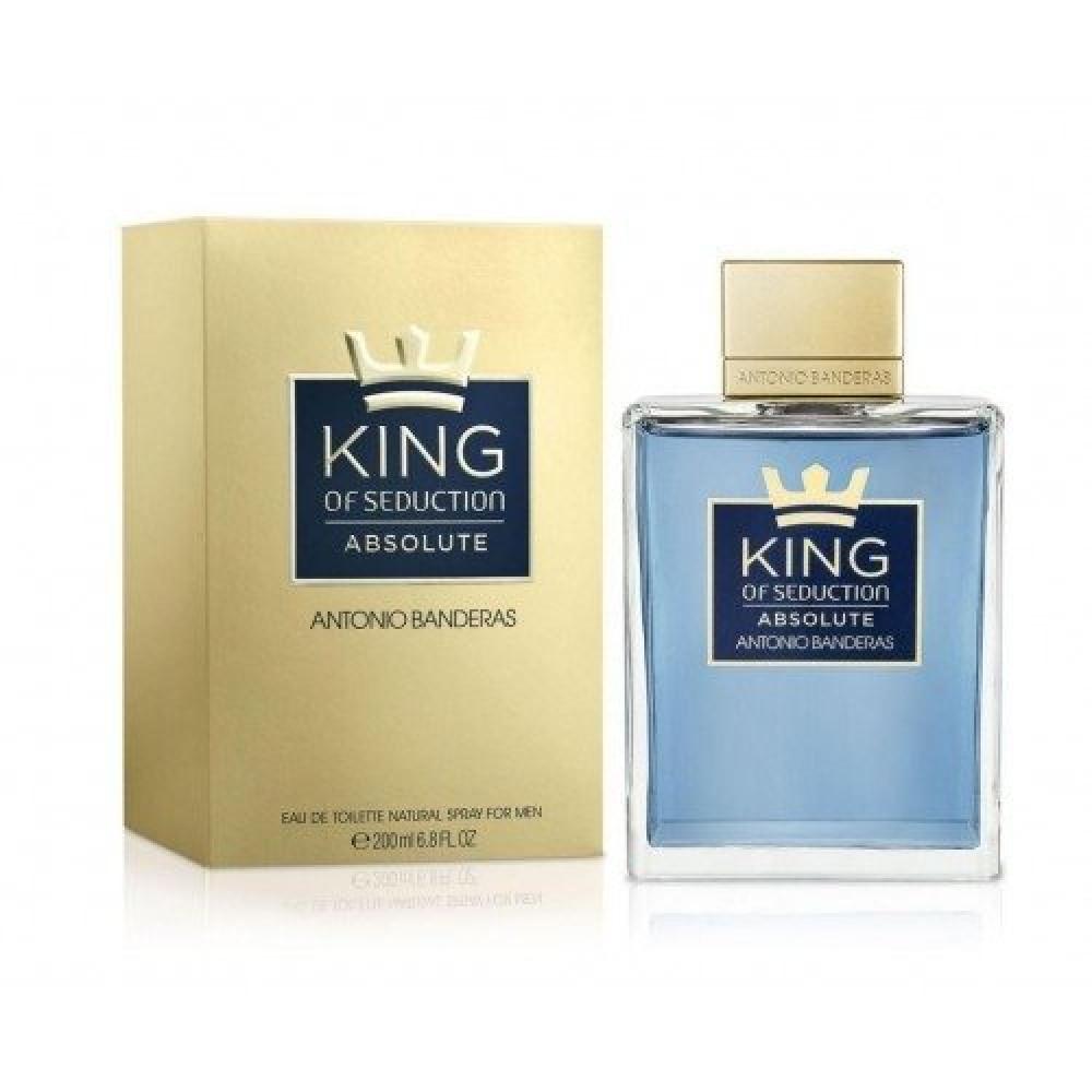 Antonio Banderas King Of Seduction Absolute Eau de Toilette 200ml خبير