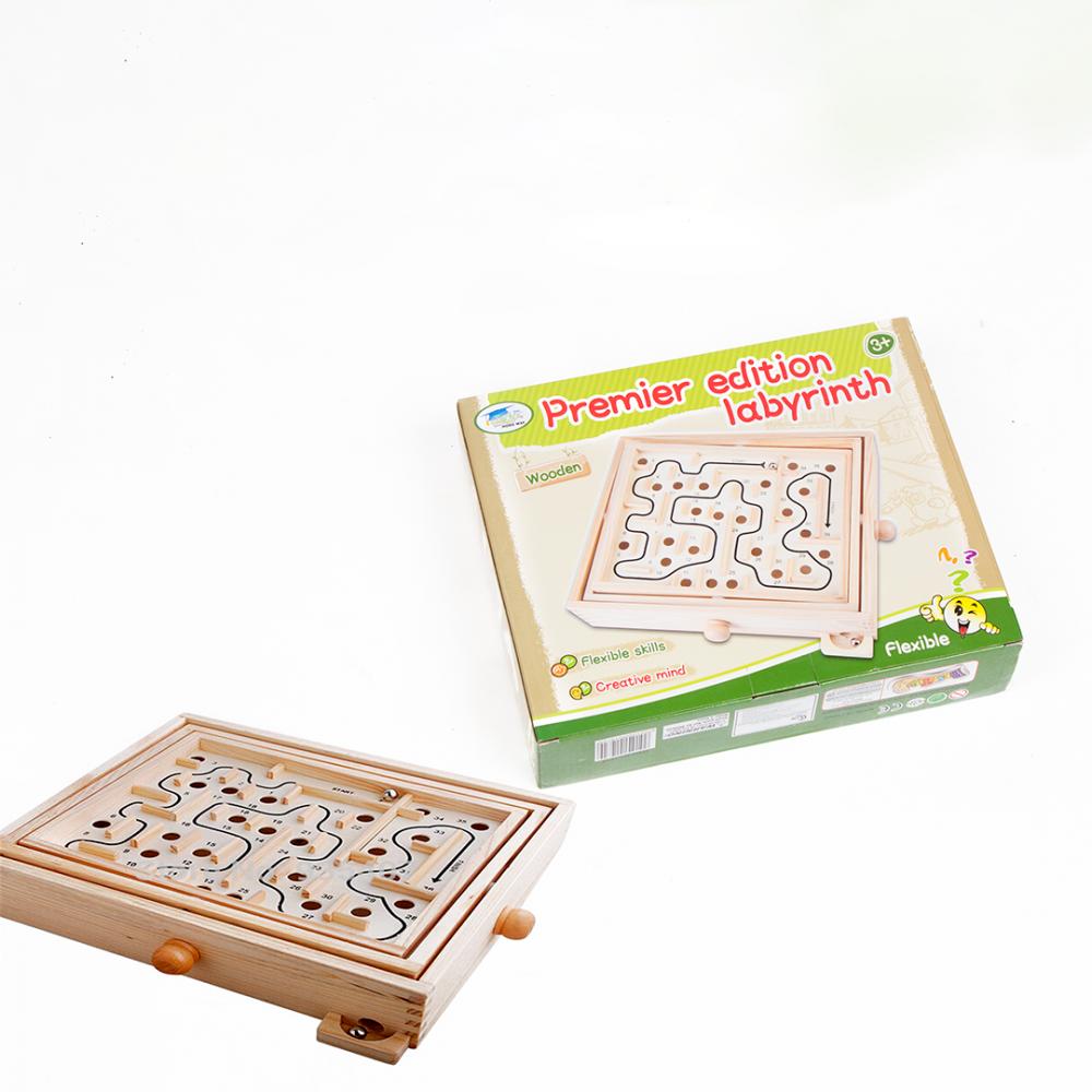 المتاهات كبير العاب تعليميه للبيع لعبة المتاهة الخشبية للاطفال