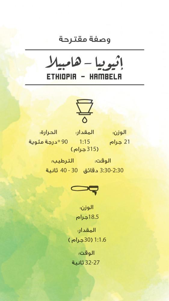 إثيوبيا - هامبيلا - 250g - مصنع القهوة