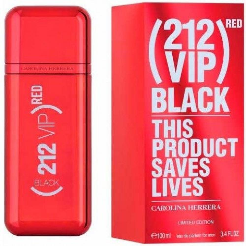Carolina Herrera 212 VIP Black Red Eau de Parfum 100ml خبير العطور