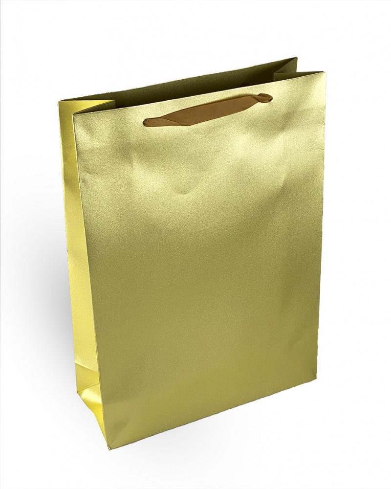 كيس هدايا ذهبي
